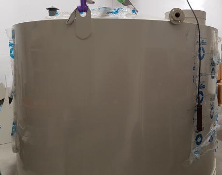 Plastikinė PP talpa glicerino laikymui