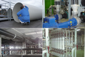 AGRU technological plastic pipes and fittings