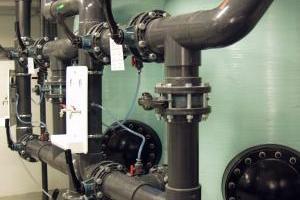 PVC-U pressure rain drain system