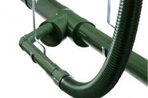 Vacuum rain drain system Vacurain