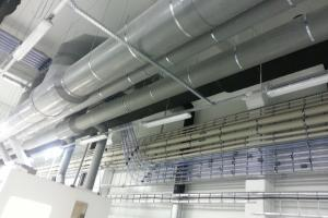 BOD group factory - plastic ventilation and technological pipe system