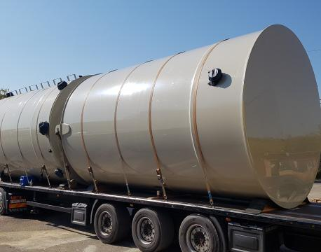 Plastic tanks from PP